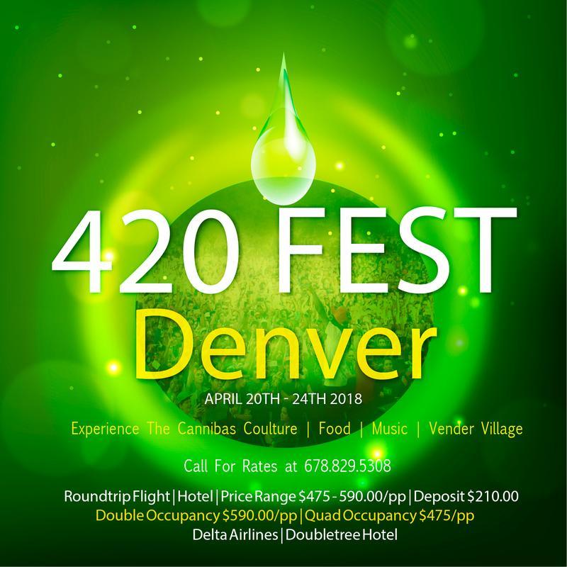 TurnedUp & Bud'd Out 420 Festival In Denver