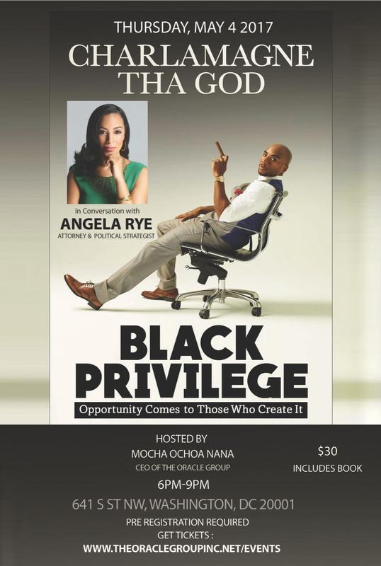 Charlamange Tha God in Conversation with Angela Rye, Attorney and Political Strategist