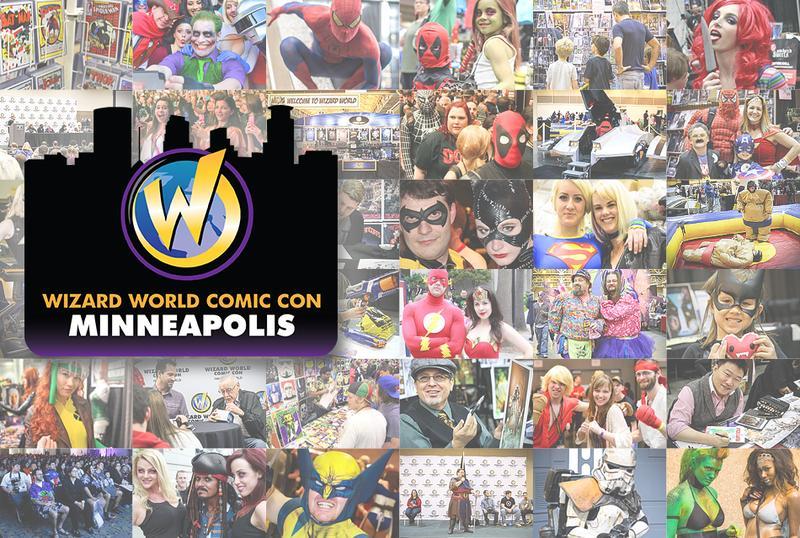 Wizard World Comic Con Minneapolis 2015 VIP Package