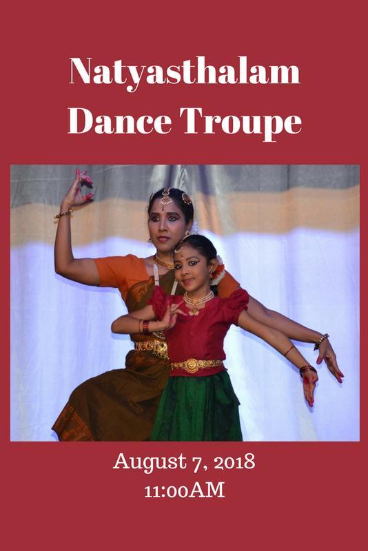 Summer Reading: Natyasthalam Dance Troupe