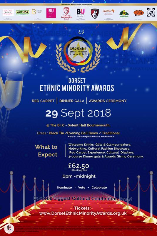 Dorset Ethnic Minority Awards 2018