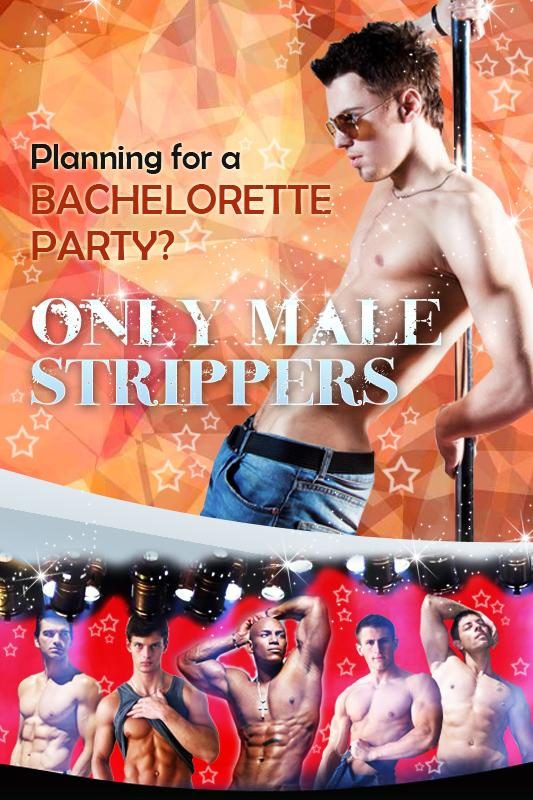 Only Male Strippers Private Party for NY, NJ & CT