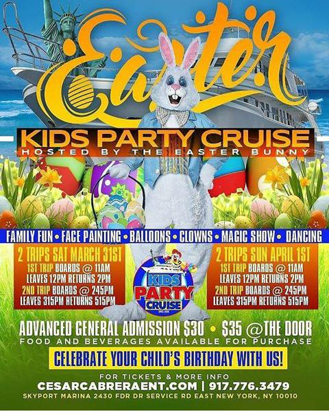 Easter Weekend Kids Party Cruise Part 2