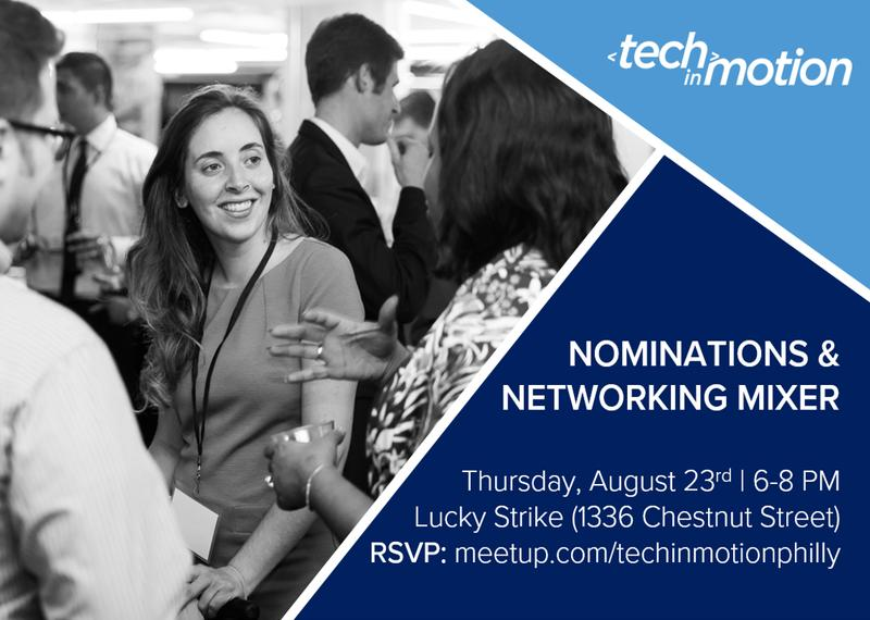 Nominations & Networking Mixer
