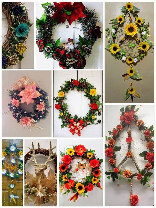 Wreath Making Extravaganza!