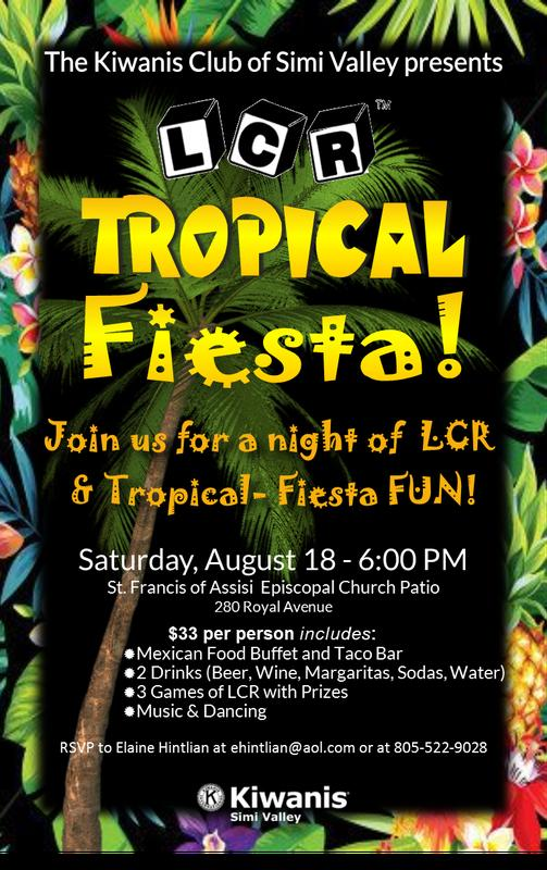 LCR 2018 - A Tropical Fiesta Under the Stars