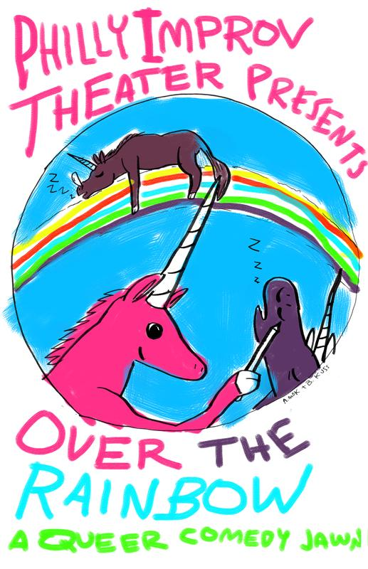Over The Rainbow: A Queer Comedy Jawn