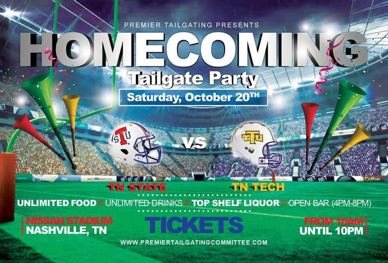 TSU Ultimate Pre-Game Homecoming Tailgate Party 2018