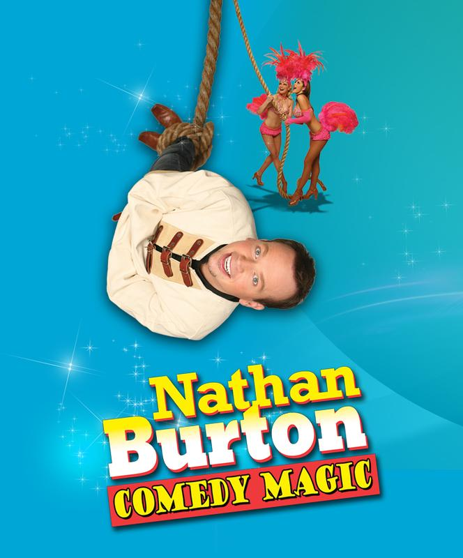 Nathan Burton Comedy Magic Apr - Aug 20