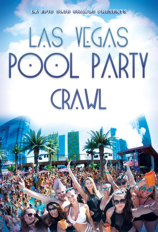 Pool Crawl Las Vegas