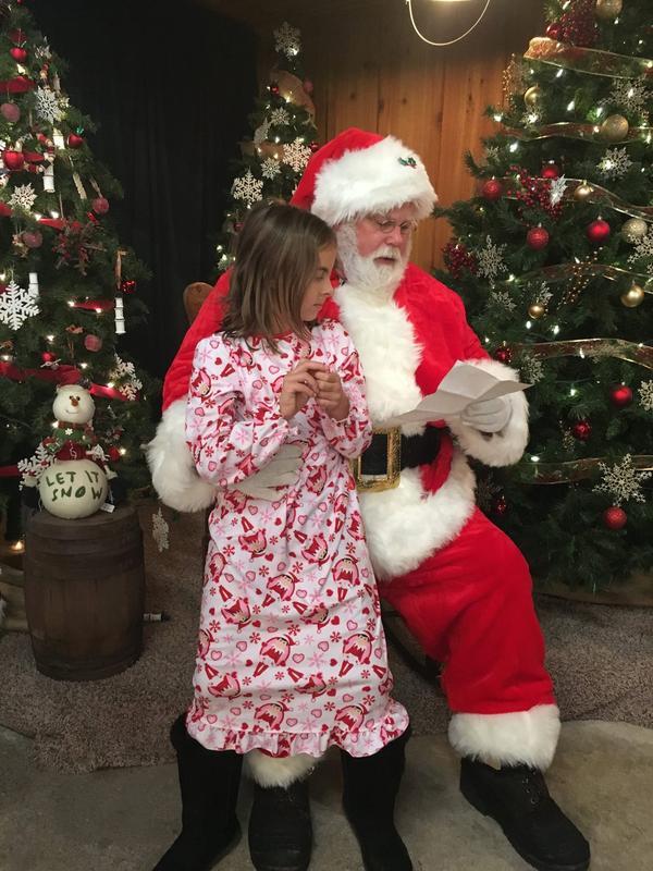 Pajamas & Stories with Santa - 2018