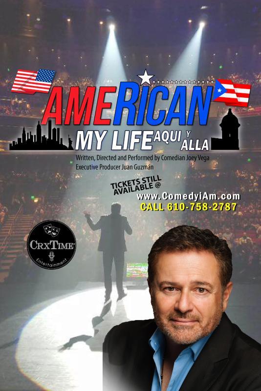 "Joey Vega in ""AmeRican"" .... My Life Aqui y Alla"