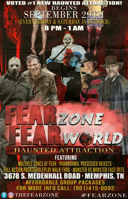 #FearZone Haunted Building