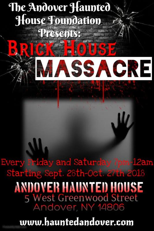 Andover Haunted House 2018 Haunt Season