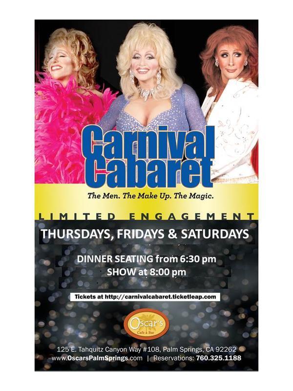 Carnival Cabaret, Thursday, Oct 22, 2015