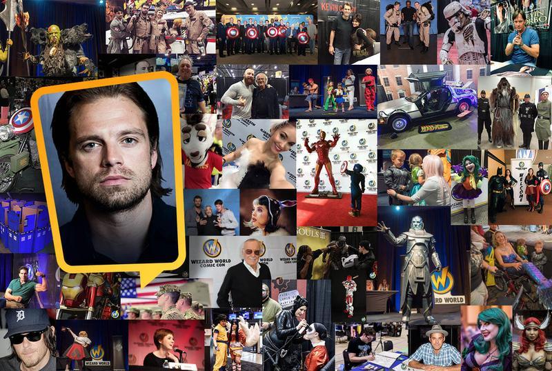 Sebastian Stan VIP @ Wizard World Comic Con AUSTIN 2016