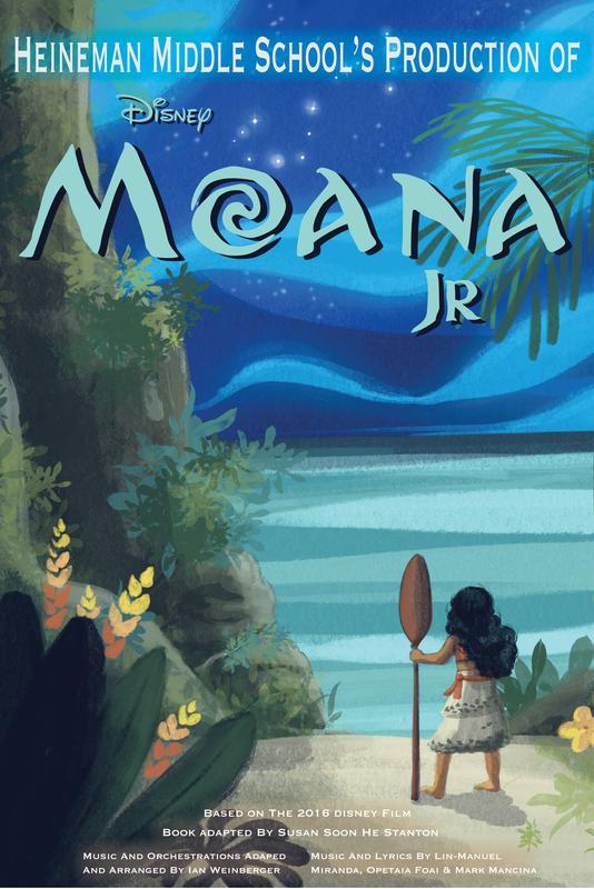 "Heineman Middle School's Production of Disney ""Moana Jr."""