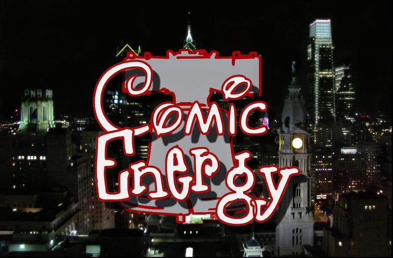 Comic Energy TV Series Taping