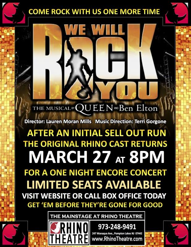 WE WILL ROCK YOU!  REUNION CONCERT @ MAINSTAGE