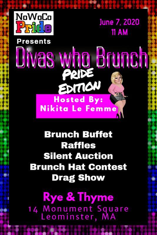 Divas Who Brunch Pride Edition