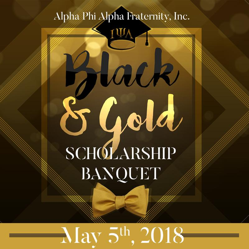 2018 Black & Gold Scholarship Banquet