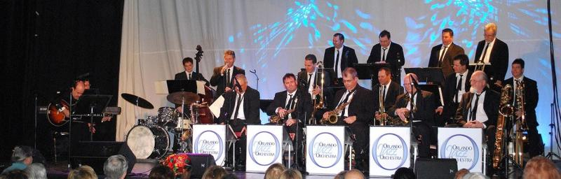 Blue Bamboo's 3rd Anniversary featuring the Orlando Jazz Orchestra
