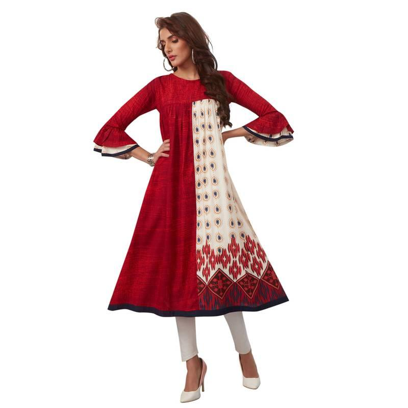 Buy Casual Kurtis Online At Best Prices - Upto 90% Off