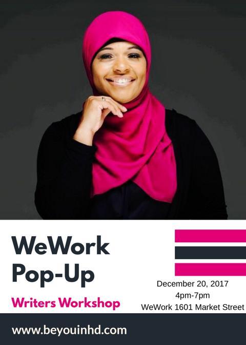 WeWork PopUp Writers Workshop