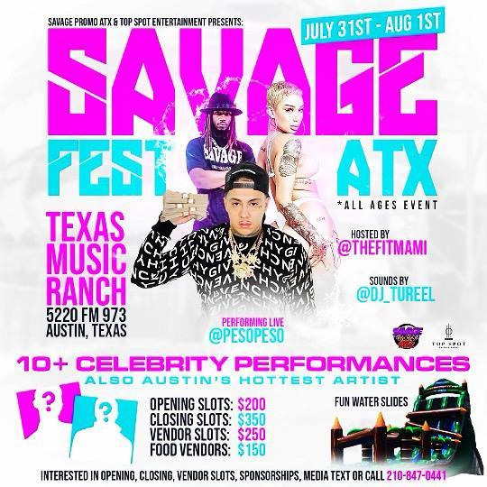 Savage Fest Atx 2021 early birds