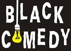 "When the lights go out, the laughter begins! ""Black Comedy""  an hysterical farce at the Erie Station Dinner Theatre."