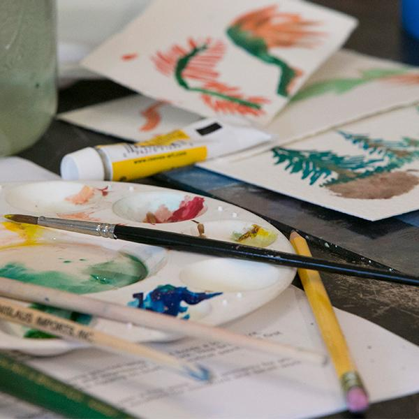Middle School Art Workshop: Watercolor
