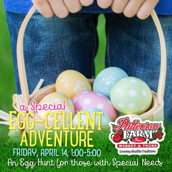 A Special Egg-cellent Adventure Egg Hunt for those with Special Needs