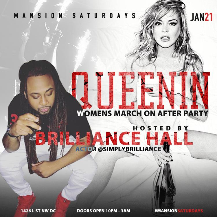 MANSION SATURDAYS |WOMENS MARCH| AFTER PARTY