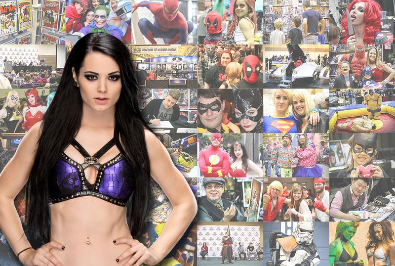 WWE® Diva Paige™ Thursday VIP @ Wizard World Philadelphia 2015