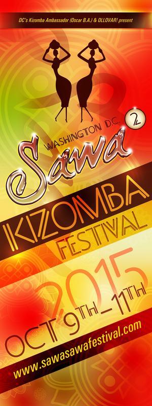 3RD ANNUAL SAWA SAWA KIZOMBA FESTIVAL (OCT 9-11, 2015)