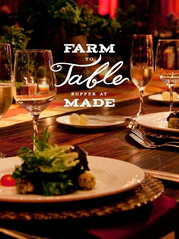 Farm to Table Supper