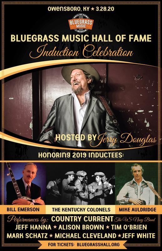 Bluegrass Music Hall of Fame Induction Celebration