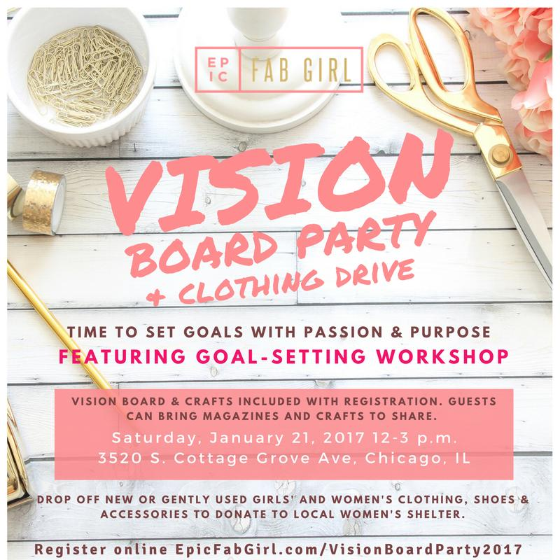Vision Board Party Flyer Best Custom Invitation Template Ps
