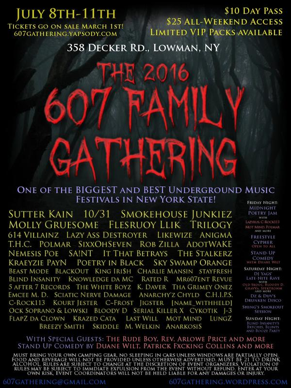 The 2016 607 Family Gathering